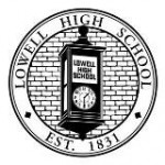 Lowell High Scholl Clock Logo new